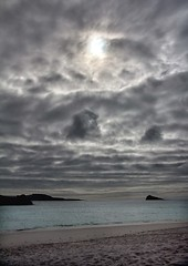 moody sky (sussexscorpio) Tags: sky moody clouds beach sea island espanolaisland hoodisland ecuador galapagos islands rocks sand water canon canon60d outdoor ocean cloud