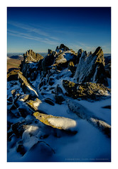 slp16-4377 (andypage7) Tags: northwales snowdonia wales frost snow ice ridge crest glyders glyderfach mountain winter