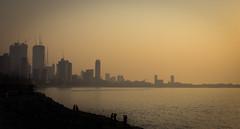 Smog on the water (jprwpics) Tags: mumbai india haze smog pollution