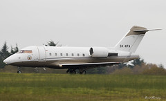 Gain Jet Challenger 604 SX-KFA (birrlad) Tags: shannon snn international airport airplane airplanes aircraft aviation runway 06 taxi taxiway takeoff departing departure cloud weather sxkfa canadair cl6002b16 challenger 604 cl60 gain jet