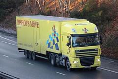 DAF XF - BISHOP'S MOVE Removals Surbiton (scotrailm 63A) Tags: lorries trucks removals