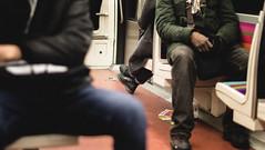 Paris Subway (L.pierre) Tags: paris france subway metro people indoorphotography nikon