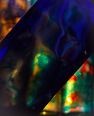 Bristol Blue (SEAMANCRETE) Tags: light abstract reflection texture colours bright shapes highlights illusion imagination canon550d