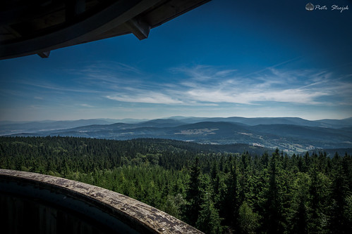 View from Borówkowa Mountain