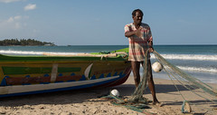 "Fisherman in Uppuveli - Sri Lanka • <a style=""font-size:0.8em;"" href=""http://www.flickr.com/photos/71979580@N08/20723777736/"" target=""_blank"">View on Flickr</a>"