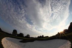 Bunker (Benny2006) Tags: sky cloud fisheye bunker golfcourse sigma10mmf28fisheye