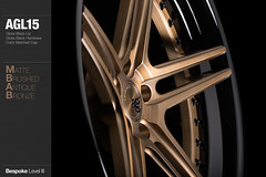 agl15-matte-brushed-antique-bronze (AG Wheels) Tags: wheel bronze antique five spoke wheels profile brush step ag finish lip split custom rim rims luxury avant garde forged matte concave finishing brushed bespoke forging spec3 agwheels agl15 agluxury aglwheels agluxurywheels