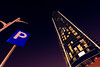 Burj Rafal, Uniquely Beautiful. Spet-18-15 (Bader Otaby) Tags: street city blue sky art skyline skyscraper photography nikon cityscape tokina tall riyadh gcc rafal burj ksa purble الخليج تصوير السعودية الرياض nighscape سحاب ليلي d7100 1116mm ناطحة نايكون مدسنة