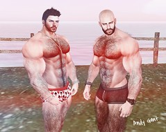 Bambi & Andy ! (A&B PHOTOGRAPHY 2.0) Tags: gay boy man cute sexy love boys face blog couple arte amor happiness ab lovers deer sl secondlife harmony short serenity boxer amistad fallow hombre hombres sexyman aesthetic bridegrooms hotman cuteman cutemen sexygay niramyth andygant bambiflores