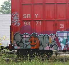 SRY 9371, Adams, Neenah, 7 Sept 15 (kkaf) Tags: adams pumpkin tagged