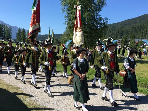 Rifleman's Parade in Seefeld in Austria with Headwater Holidays