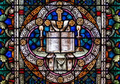 The Cross (The Mr and The Mrs) Tags: galveston texas cross stainedglass historic bible galvestonisland gulfcoast bishopspalace coastaltexas wwwthemrandthemrscom