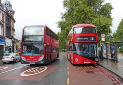GAL E125 LX09FCA - LT449 LTZ1449 - CAMBERWELL GREEN - SAT 5TH SEPT 2015 (Bexleybus) Tags: new bus green london ahead go route 400 boris routemaster dennis camberwell enviro tfl 345 goahead nbfl e125 borismaster lt449 ltz1449 lx09fca