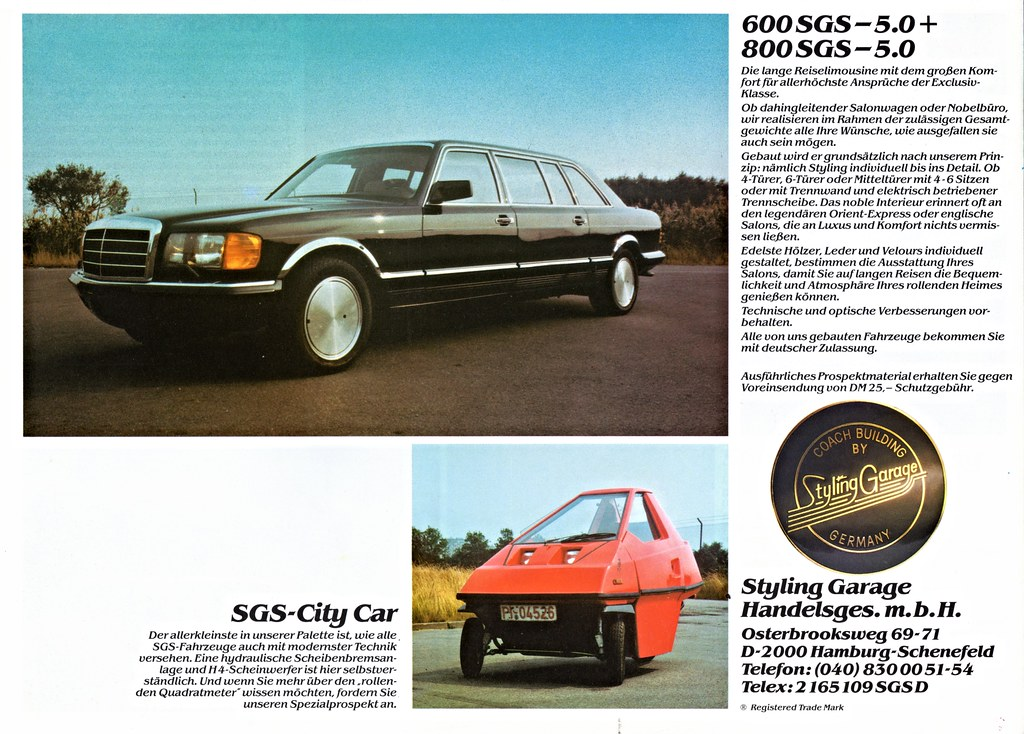 The world 39 s best photos of brochure and mercedes flickr for Garage agree mercedes
