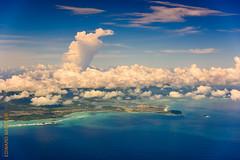 around Oahu (Edi Bhler) Tags: sea sky nature clouds meer natur himmel wolken waters palme gewsser flugaufnahme nikond810 24120mmf4 2015hawaii oahulm