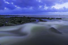 Kaladan (bushay) Tags: cloud nature water river nikon long exposure myanmar rakhine arakan sittwe kaladan akyab d5300 gispa