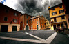 in the streets of Bardolino (André Schönherr) Tags: street italien sky nature weather see wasser italia outdoor natur wolken alpen strom wetter lagodigarda gardasee sturm naturgewalt bardolino unwetter strase 40d visionhunter