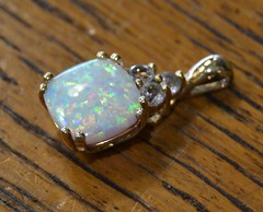 "QUALITY OPAL IN GOLD SETTING • <a style=""font-size:0.8em;"" href=""http://www.flickr.com/photos/51721355@N02/21845234656/"" target=""_blank"">View on Flickr</a>"