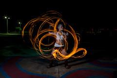 Fire Jammin at IX Art Park-5 (rich tarbell) Tags: park man art girl hoop fire virginia dancer burning exotic va poi hippie fans charlottesville trippy hooping ix