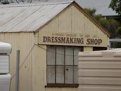 Brinkworth. Old saddler shop from 1894. Now a dressmakers. (denisbin) Tags: farmers police bank storedressmnakersaddlerchurchanglican churchbrinkworth brinwkworth stationstoreeudunda anglicanadvertisingeudunda