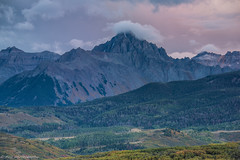 Sunset at Mt Sneffels (tyil.pics) Tags: pink sunset clouds colorado fallcolors mountsneffels nikond810