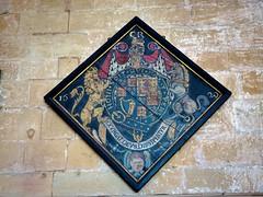 P7312398 (simonrwilkinson) Tags: church nottinghamshire southwellminster royalarms