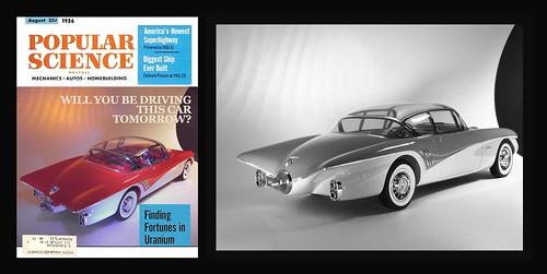 Buick Centurion Faux Magazine Cover & Publicity Photo