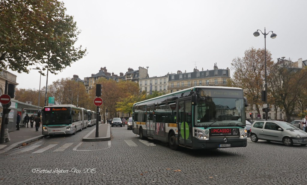 The world 39 s best photos of 75 and ratp flickr hive mind - Navette denfert orly ...