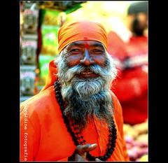 holy Man... (geraldine fotografie) Tags: india yogi baba ooty sadhu holyman sdhu