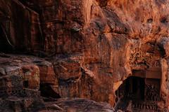 Rock cut cave temples in Badami (Madhu Gopalan) Tags: india karnataka badami chalukya