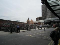 IMG_1012 (Sweet One) Tags: uk england london bicycle unitedkingdom parking racks waterloostation bikeparking