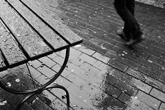 (retuelf) Tags: blackandwhite rain fuji hamburg streetphotography rainy altona snapseed x100t fujixphotography