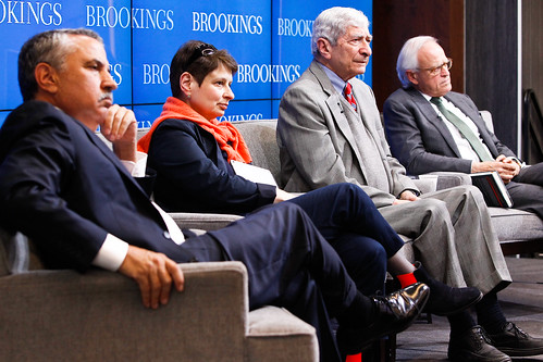 "Panelists listen to audience questions at Brookings book launch: ""Putin's Crimean gamble: Russia, Ukraine, and the new Cold War"""
