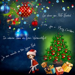 Merry Christmas (diabolomint) Tags: christmas lights gifts nol boules sapin lumires cadeaux ftes guirlandes