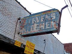 Stevens Kitchen, Jackson, MS (Robby Virus) Tags: street black kitchen sign mississippi restaurant african stevens jackson historic neighborhood civil american rights farish
