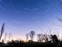 Attenborough Stars (JayKirkPhotography) Tags: nottingham longexposure night canon landscape attenborough nottinghamshire startrails 70d