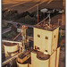 Illinois grain elevators. Holder Elevator and Twin Groves Wind Farm, Mclean County IL