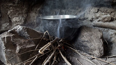 Cooking Dinner (World Bank Photo Collection) Tags: worldbank africa kenya kisumu cookstoves energy food cook cooking firewood embers fire smoke pot