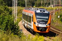 EN63A-004, Mysowice, Poland (Reanoe) Tags: impuls d610 tamron rails railways trains newag en63 przewozyregionalne passenger