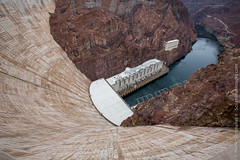A lot of dam concrete. (Scriptunas Images) Tags: hooverdam nevada arizona dam coloradoriver concrete vertigo