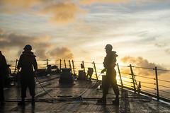 160916-N-PD309-019 (SurfaceWarriors) Tags: benfold japan navy sailor underway philippinesea