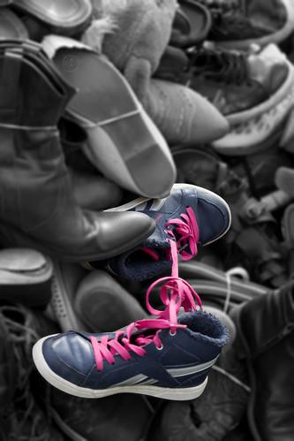 Pyramide de chaussures