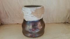 Mini Vase (lulurue) Tags: pottery clay whiteclay potterswheel vase shotglass