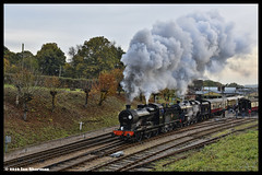 No 30541 No 73082 Camelot 30th Oct 2016 Giants of Steam Bluebell Railway