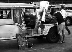 Jeepney (24) (momentspause) Tags: ricohgr ricoh blackandwhite bw candid manila philippines jeepney travel