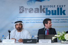 Breakbulk Middle East 2016 Official Press Conference at ADNEC (Transportation Conferences & Exhibitions) Tags: projectcargo middleeast adnec fta bbme2016