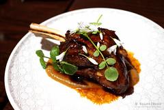20161014-16-48 hour lamb shank at Hearth in Hobart (Roger T Wong) Tags: 2016 australia hobart iv metabones rogertwong sigma50macro sigma50mmf28exdgmacro smartadapter sonya7ii sonyalpha7ii sonyilce7m2 tasmania dinner food hearth lamb lambshank onions
