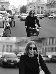 [La Mia Citt][Pedala] con un mezzo sorriso (Urca) Tags: milano italia 2016 bicicletta pedalare ciclista ritrattostradale portrait dittico nikondigitale mir bike bicycle biancoenero blackandwhite bn bw 895103