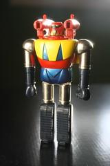 Shogun Warriors Poseidon (Popy/Mattel 1970's) (Donald Deveau) Tags: shogunwarriors diecast metal toys vintagetoy actionfigure poseidon japanesetoy japanesecharacter robot mattel popy