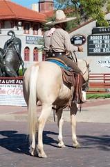 Vaquero (dangr.dave) Tags: fortworth tx texas cowtown tarrantcounty panthercity downtown historic architecture cowboy vaquero horse stockyards drover